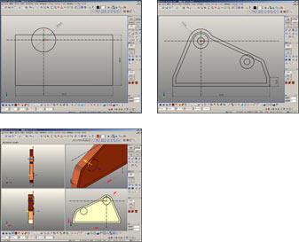 2D感覚の3Dモデリング機能